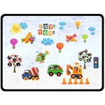 Boys Toys Family Extra Large Fleece Blanket - Fleece Blanket (Large)
