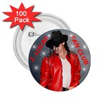 J. LUCAS FAN CLUB BUTTON - 2.25  Button (100 pack)