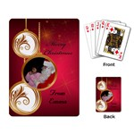 Merry Christmas Cards - Playing Cards Single Design (Rectangle)