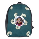 School Bag (Large)- Swirls