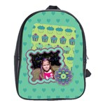 Cupcake Large School Bag - School Bag (Large)