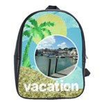 Vacation  large school bag back pack - School Bag (Large)