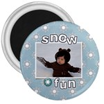 3  Magnet - Snow Fun