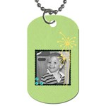 EC dog tag 2 - Dog Tag (One Side)