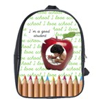 Bag school big - I m a good student - School Bag (Large)