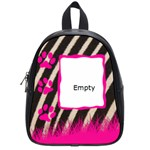 Bag school small -  zebra - School Bag (Small)