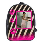 Bag school big - zebra - School Bag (Large)