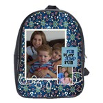 Run Jump Play Backpack Lrg. - School Bag (Large)