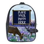 Deer Large School Bag - School Bag (Large)