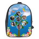 family tree large back pack school bag - School Bag (Large)