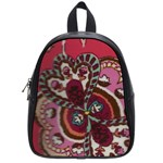 coral school bag - School Bag (Small)