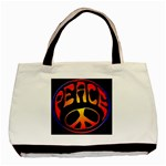 peace2 - Basic Tote Bag
