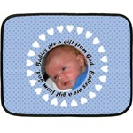 silas - Fleece Blanket (Mini)