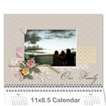 Calendar - Our Family - Wall Calendar 11  x 8.5  (12-Months)