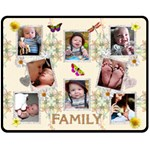 Family Medium Fleece Blanket - Fleece Blanket (Medium)