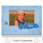 For the Boys/any theme-12 month 2015 calendar - Wall Calendar 11  x 8.5  (12-Months)