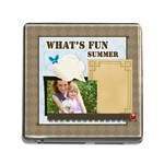 what s fun of summer - Memory Card Reader (Square)