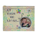 Let Them Be Little XL Cosmetic Bag - Cosmetic Bag (XL)