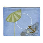 Beach Times XL Cosmetic Bag 1 - Cosmetic Bag (XL)