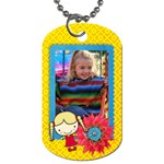 Girl 1-Dog Tag (2 sides) - Dog Tag (Two Sides)