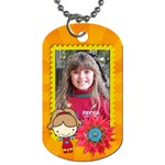 Girl 2-Dog Tag (2 sides) - Dog Tag (Two Sides)