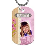 Party Fun 2-Sided Dog Tag - Dog Tag (Two Sides)