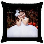 pillowcase - Throw Pillow Case (Black)