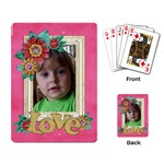 Love-Family-playing cards (single) - Playing Cards Single Design (Rectangle)