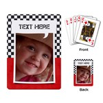 Race/boy-Playing cards (single design) - Playing Cards Single Design