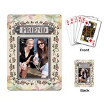 Floral Friend Playing Cards - Playing Cards Single Design (Rectangle)