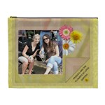 Friends Are Like Flowers XL Cosmetic Bag - Cosmetic Bag (XL)