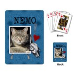 Love My Cat Playing Cards - Playing Cards Single Design (Rectangle)