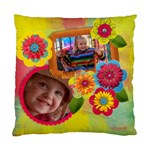 Vibrant/Artistic Flowers-Cushion Case (Two Sides) - Standard Cushion Case (Two Sides)