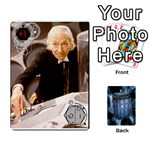 DOCTOR WHO V2 FILE  - Playing Cards 54 Designs