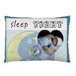 Sleep Tight Boy 2-Sided Pillow Case - Pillow Case (Two Sides)