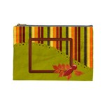 Autumn s Glory Large Cosmetic Bag 1 - Cosmetic Bag (Large)