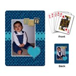 Boy Playing Cards - Playing Cards Single Design (Rectangle)