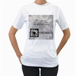 Teacher TShirt - Women s T-Shirt (White) (Two Sided)