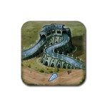 BlueMoon_Rio - Rubber Coaster (Square)