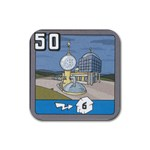 50Fusion - Rubber Coaster (Square)