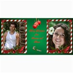 Candy Cane 4x8 photo Card - 4  x 8  Photo Cards