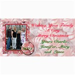 Family Christmas - 4  x 8  Photo Cards