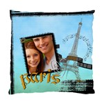 travel paris - Standard Cushion Case (Two Sides)