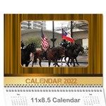 Highlights 2020 Calendar LARGE NUMBERS - Wall Calendar 11  x 8.5  (12-Months)
