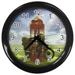 Kino - Wall Clock (Black)