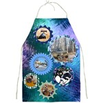 All Geared up Full Apron - Full Print Apron