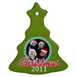 2011 Ornament 6 - Ornament (Christmas Tree)