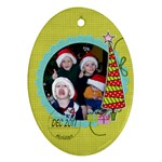 2011 Ornament 11 - Ornament (Oval)