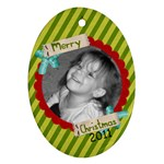 2011 Ornament 12 - Ornament (Oval)