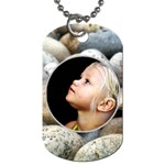 summer beach dogtag - Dog Tag (Two Sides)